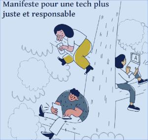 page accueil du manifeste Fair Tech